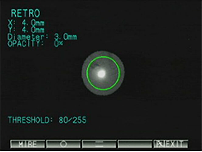 Autorefraktometr Acomoref 2 / K-model ekran